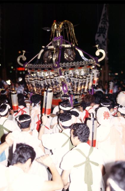 海南神社の夏祭り