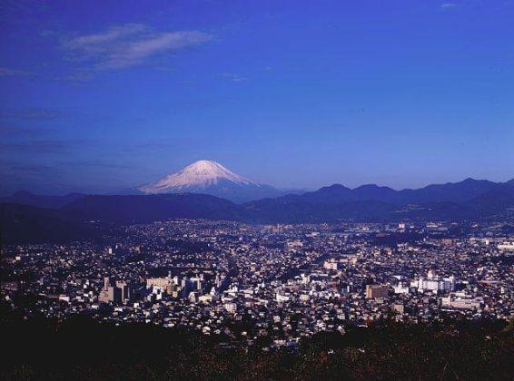 弘法山公園公園展望台