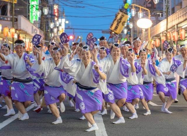 【2021年は11月開催予定】神奈川大和阿波おどり