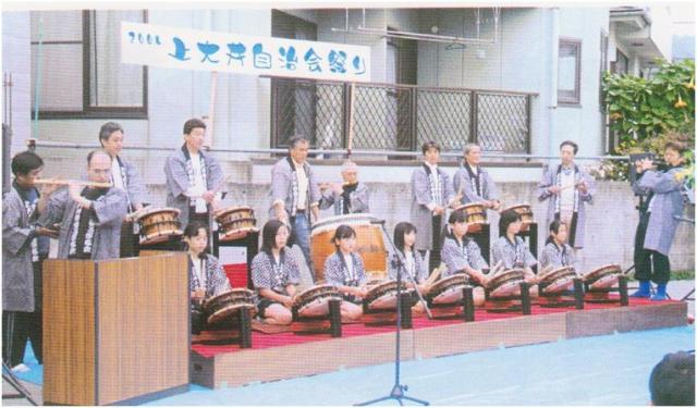 上大井祭囃子
