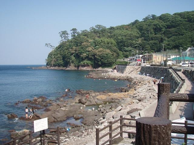 The koto ke beach shore