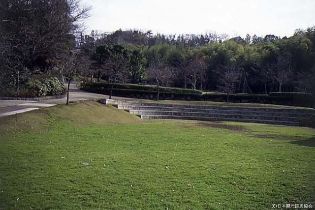 Arai ruins of a castle park