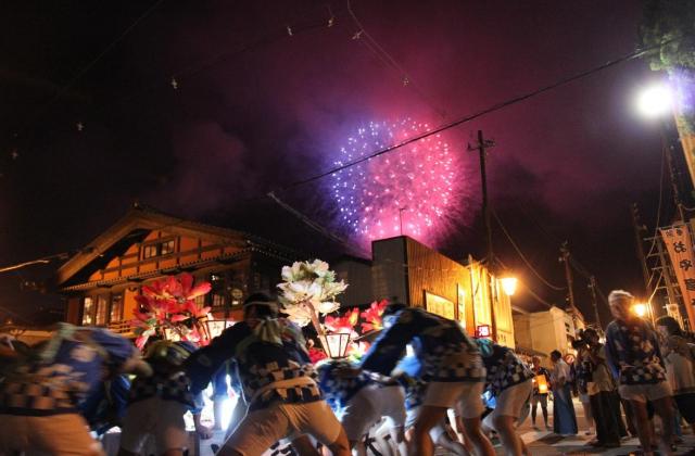 【2020年中止】弥彦燈籠まつり奉祝花火大会