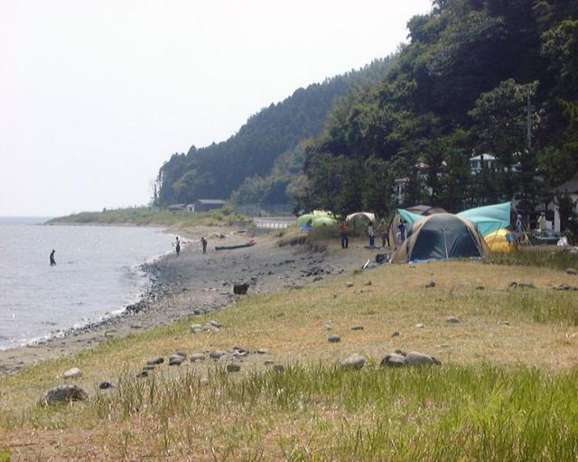 内浦キャンプ場