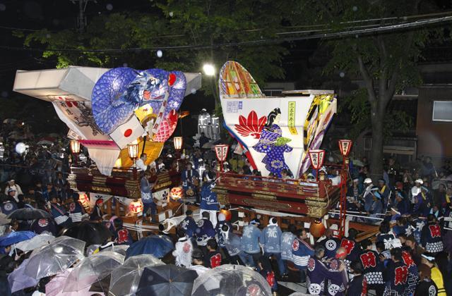 <中止>岩瀬曳山車祭