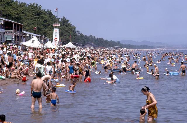 雨晴松太枝浜海水浴場
