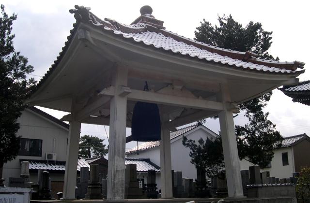 専念寺の銅鐘