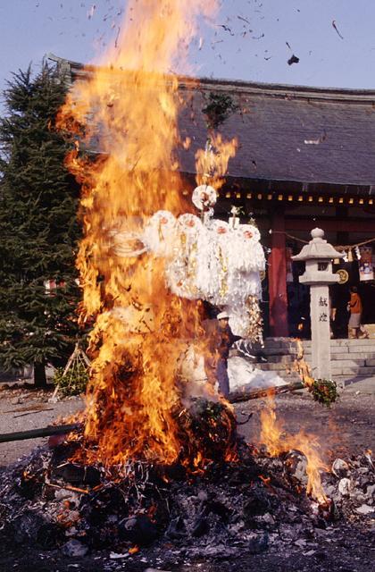 愛宕神社の火祭り