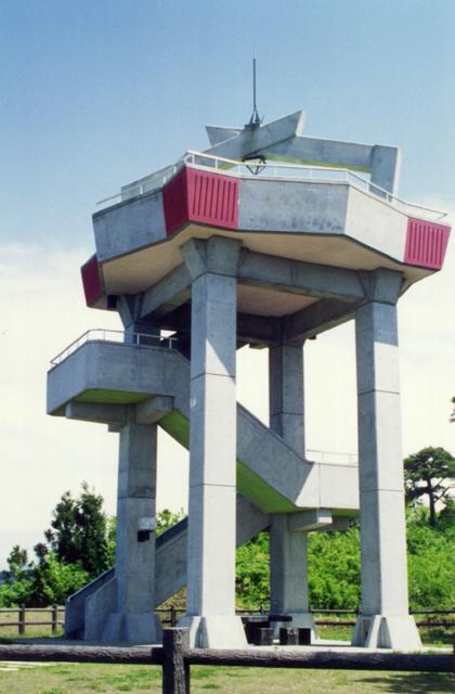 散居村展望台、預料廣場