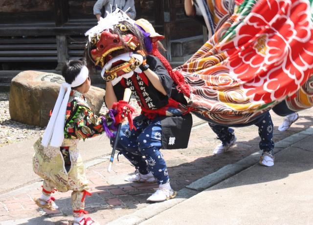おやべの獅子舞祭(石動天神獅子舞祭)