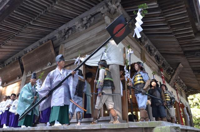 神社巡遊的祭神儀式