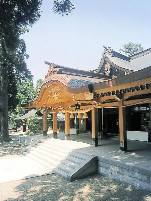 越中一の宮高瀬神社