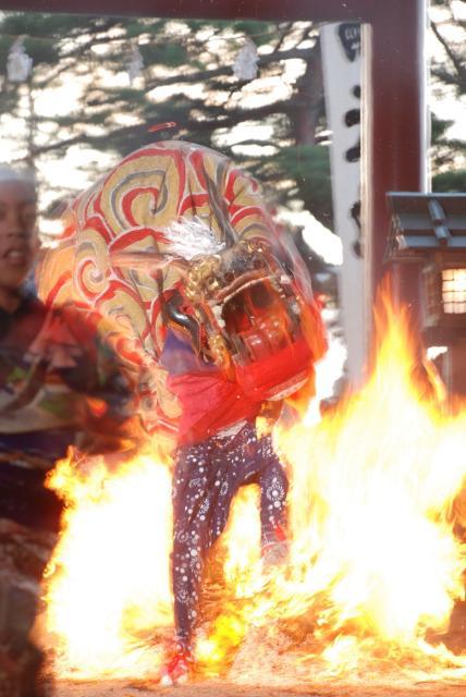 櫛田神社秋季例子大祭(火直徑祭神儀式)