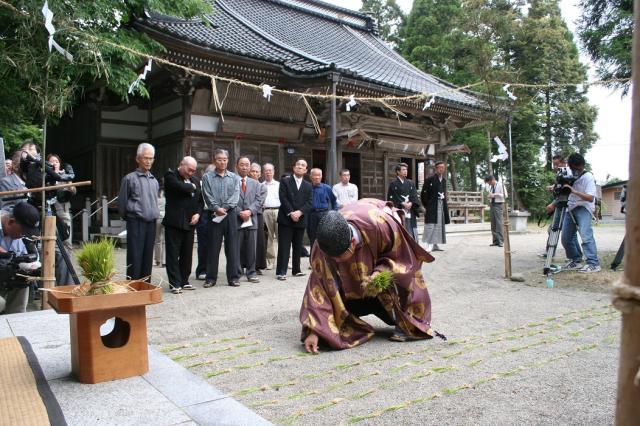 御田植祭(富山県射水市)
