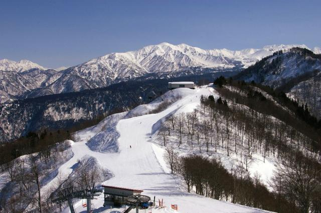 立山山麓 (極楽坂・らいちょうバレー)