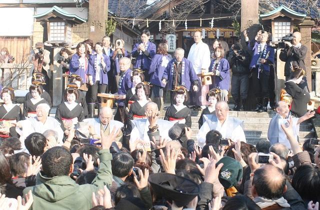 【2021年豆撒き中止】宇多須神社 節分祭