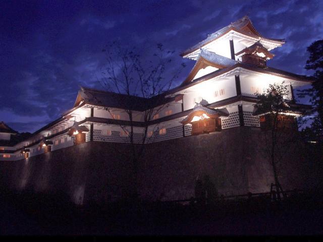 金沢城・兼六園ライトアップ~秋の段~