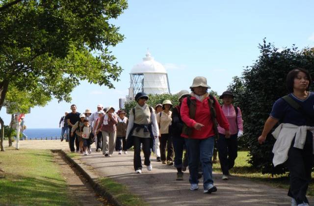 岬自然歩道を歩こう大会