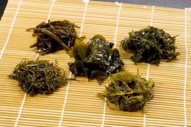 Seaweed shabu-shabu