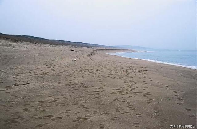 Quasi-national park Kaga Beach