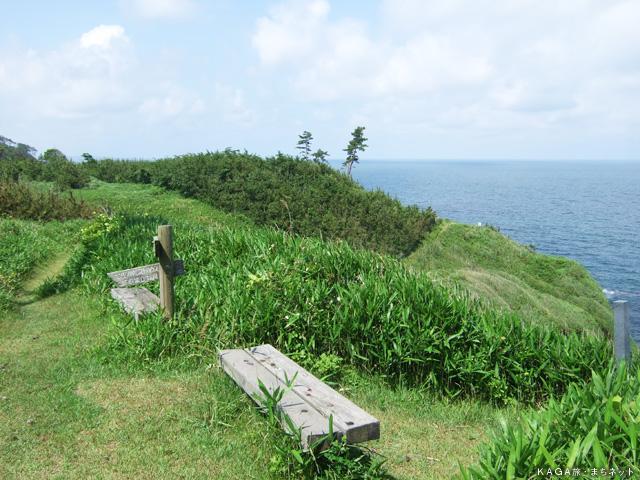 Kaga Beach nature trail
