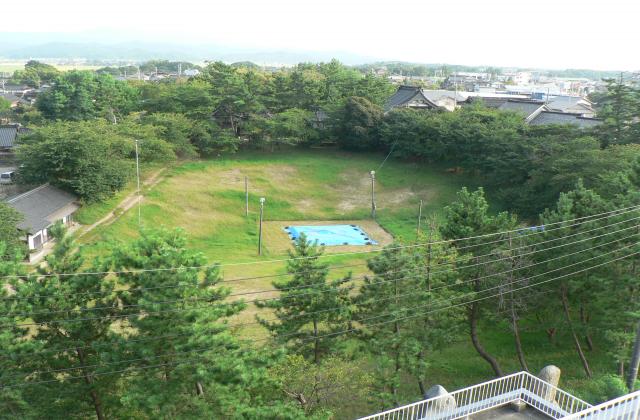 唐戸山相撲場