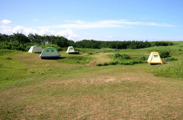 千里浜なぎさモビレージキャンプ場