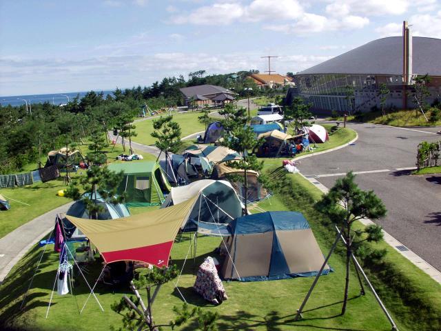 うみっこらんど七塚キャンプ場