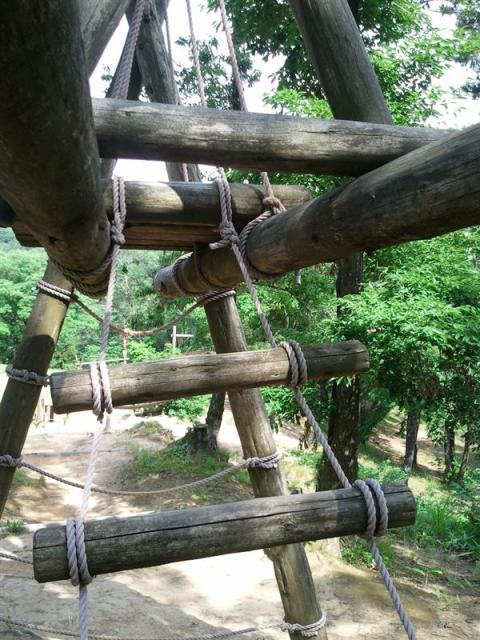 石川県森林公園アスレチックコース