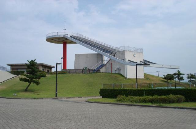 360度の眺望が楽しめる大展望台