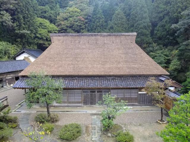 石川県指定有形文化財岡部家