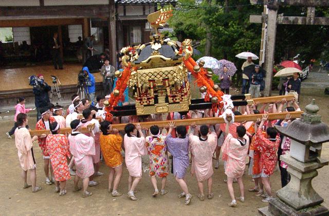 【2021年神事のみ】織田神社例祭