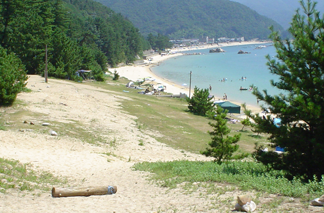 丹生白浜キャンプ場
