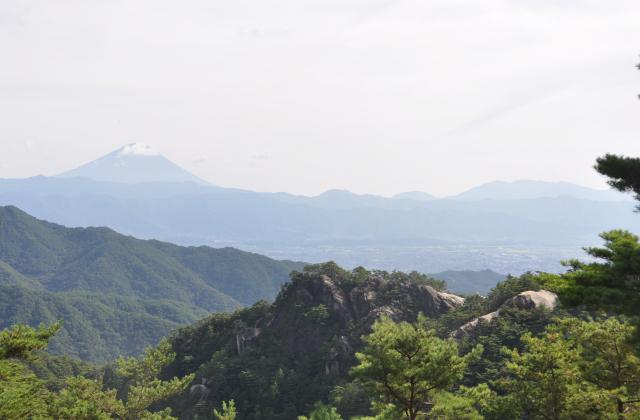 昇仙峡ロープウエイパノラマ台