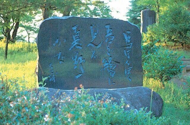 松尾芭蕉句碑