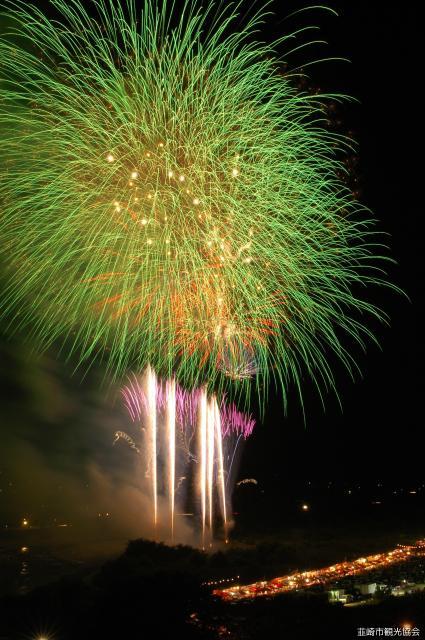 武田の里にらさき・花火大会