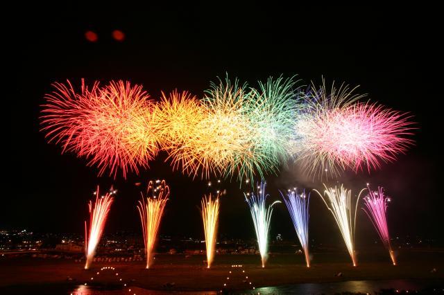 【2020年度中止】笛吹市夏祭り石和温泉花火大会
