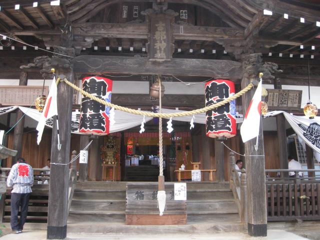 諏訪神社祭典