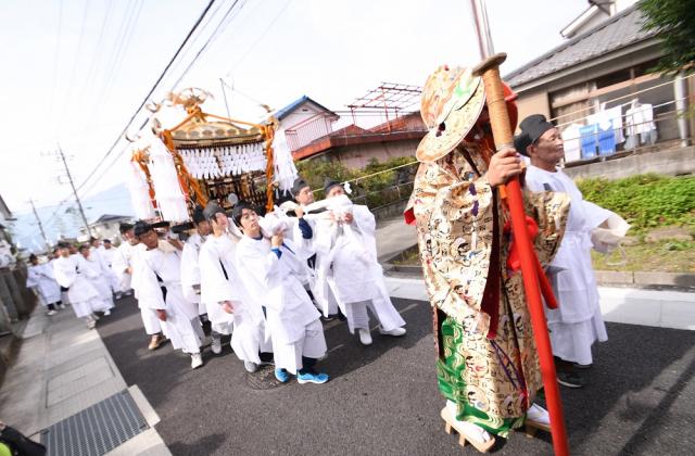 弓削神社例大祭
