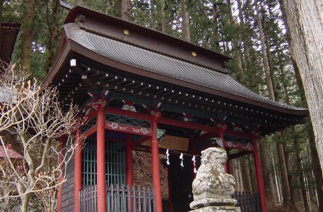 氷室神社(山梨県富士川町)