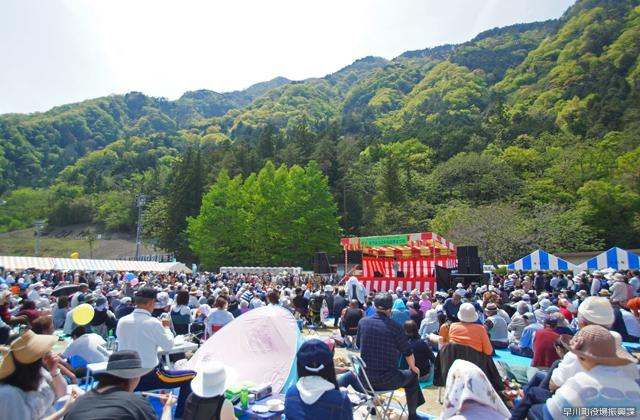 南アルプス早川山菜祭り