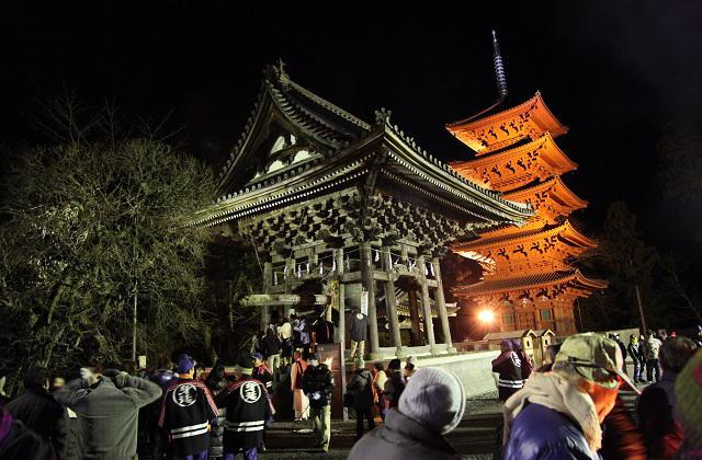 Minobusan bells on New Year's Eve★19365ba2212054332