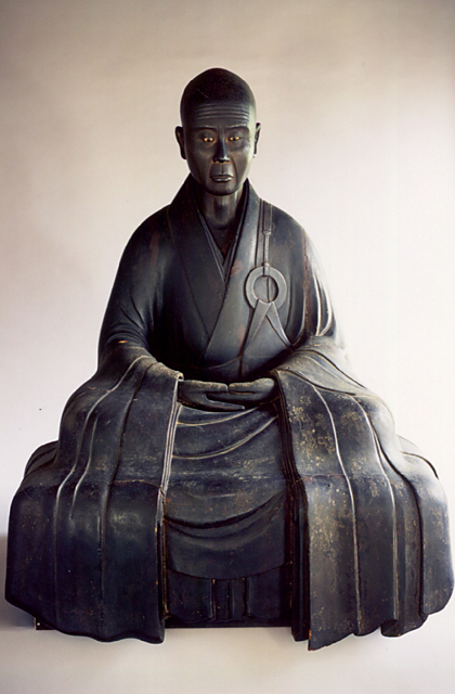 木造夢窓国師坐像