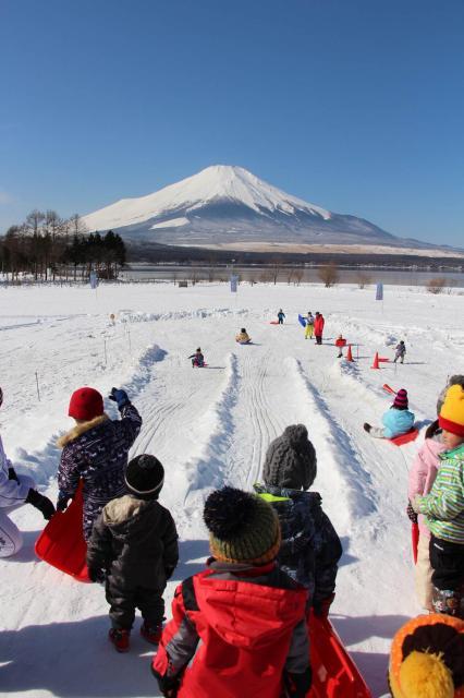 2018山中湖富士山雪まつり