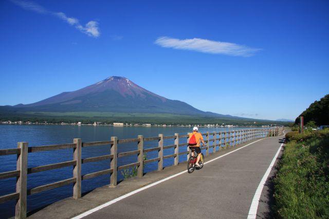 山中湖畔サイクリングロード