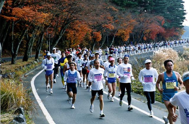 第5次富士山馬拉松