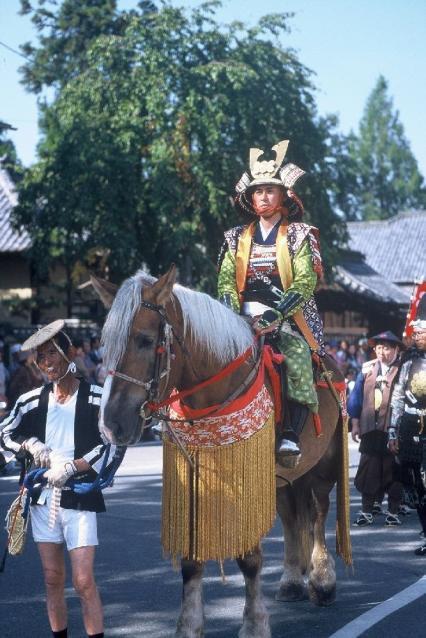 The 64th Matsushiro Domain Sanada Jyumangoku Festival