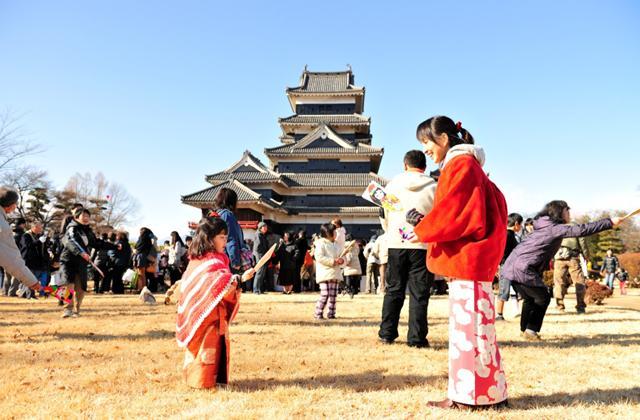 第29回国宝松本城新春開門式
