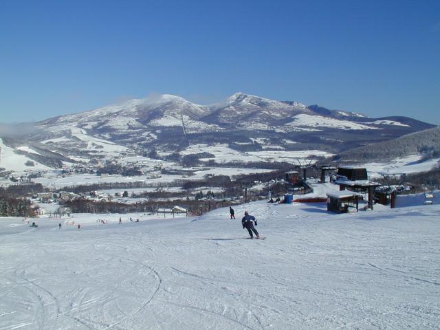 菅平高原 スキー場開き