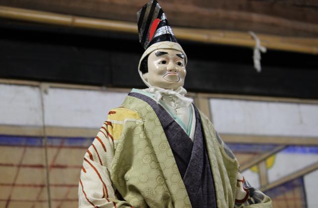 黒田人形浄瑠璃奉納定期公演
